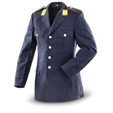 german military surplus air force dress jackets 2 pack