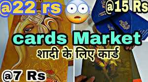 Designer Wedding Cards Chawri Bazar Chawri Bazar Cards Beautyfull Delhi