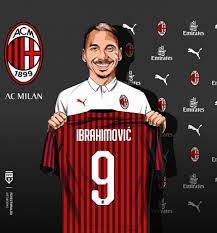 Zlatan Ibrahimovic rejoins AC Milan at 38