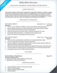 Babysitting Resume Template Delectable Babysitting Resume Templates Babysitting Resume Templates Free
