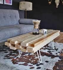12 cool diy coffee table ideas