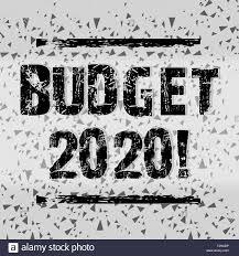 Budgeting Tools 2020 Handwriting Text Writing Budget 2020 Conceptual Photo