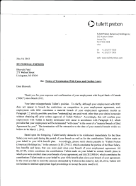 Certificate Of Termination Of Employment Sample Copy Template Letter ...