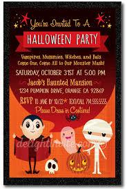 Vampire Halloween Costume Party Invitations Di 10417 Harrison