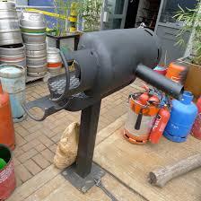 gas bottle bbq