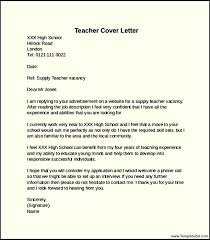 Gallery Of Cover Letter Elementary School Elementary School