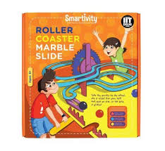 smartivity roller coaster marble slide age 8 science kit diy 8908006537112