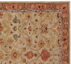 elham persian style rug pottery barn inside area rugs ideas 10
