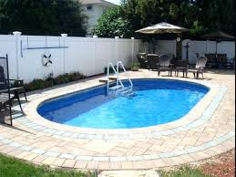 Backyard Designs With Pool Impressive Swimming Pool In Small Backyard Small Outdoor Pool Modern Swimming