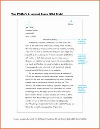 Mla In Text Citations Works Cited Pages How To Write A Summary Essay