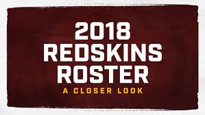 Redskins Qb Depth Chart 2018 A Closer Look At The Redskins 2018 Roster