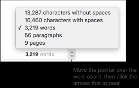 pages for mac show word count and other document statistics in a pages for mac show word count and other document statistics in a pages document