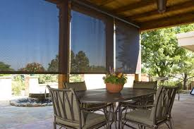 roll down shades for patio astounding awnings innovative openings home interior 29