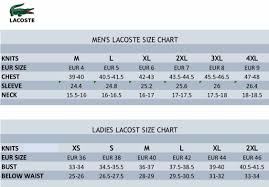 Mens Lacoste Shorts Size Chart Coolmine Community School