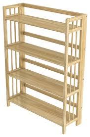 Stony Edge Folding Bookcase, 4 Shelves, 32