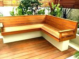 corner planter box garden seat bench outdoor with boxes nz