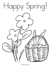 Free Spring Coloring Pages Coloring Free Spring Coloring Pages For