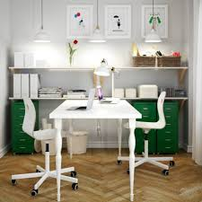 two desk office. Fascinating Two Desk Office Setup Brilliant Interior Decor .