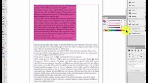indesign add background to a text box