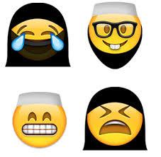 traditionell gekleidet frauen verhüllt emojis von muslim emoji