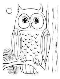 Great Horned Owl Coloring Page Great Horned Owl Coloring Page Owl