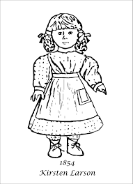 American Girl Coloring Pages American Girl Coloring Pages For