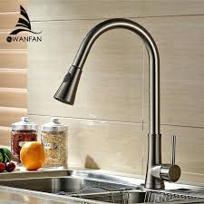 brushed nickel kitchen sink sp aqua faucet brushed nickel kitchen sink faucet