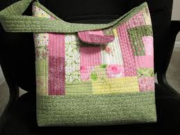 Quilt-As-You-Go Patchwork Bags | Patchwork bags, Purse and Patchwork & Learn How to Make a Quilted Purse in Quilt-As-You-Go Patchwork Adamdwight.com