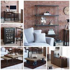 contemporary rustic furniture. Rustic Living Room Furniture Spitalfields Industrial Contemporary Collection Dunelm Mill Ideas