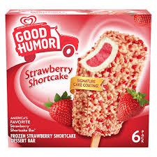 strawberry shortcake bars good humor