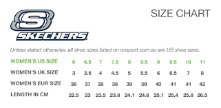 Skechers Shoe Size Chart Buy Skechers Size Chart Off64 Discounted