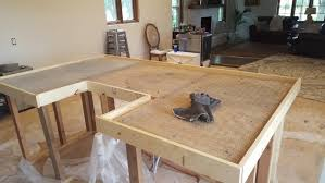 kitchen island cement countertops diy pour in place countertop building concrete countertops outdoor cement countertops