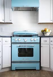 Kitchen Appliances Built In Baffling Retro Kitchen Appliances Features White Wooden Kitchen