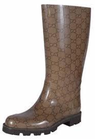 gucci rain boots. gucci rubber brown boots rain
