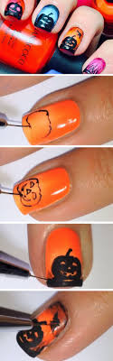 227 best Halloween Nails images on Pinterest | Halloween nail art ...