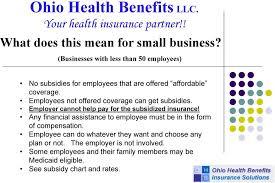 Ohio Health Benefits Llc Your Health Insurance Partner Pdf
