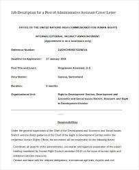 Administrative Assistant Cover Letter - 8+ Free Word, Pdf Documents ...