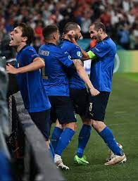 إيطاليا ضد إنجلترا.. بونوتشي أكبر لاعب يسجل في تاريخ نهائي اليورو