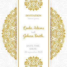 wedding invitation vectors, photos and psd files free download Vintage Wedding Invitation Templates Photoshop vintage wedding invitation with mandala Wedding Invitation Templates Blank