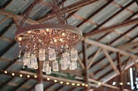 wagon wheel chandelier with downlights large