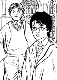 Disegni Harry Potter Az Colorare