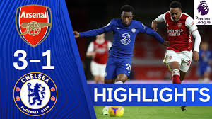 Arsenal 3-1 Chelsea | Premier League Highlights - YouTube