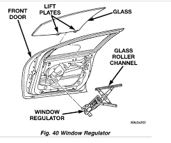 driver side power window off track the front off my 2000 intrepid 6 pin power window switch wiring diagram at Car Power Window Diagram