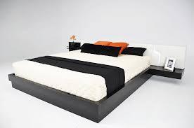 platform king bed frame ensures great comfort  bedroom ideas