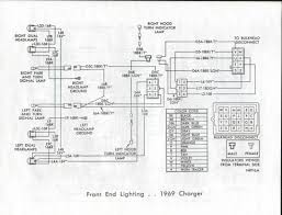 1969 dodge charger 1969 dodge charger wiring diagram manual front end lighting