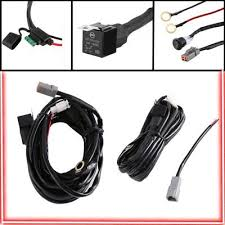 12v switch relay twin wiring harness kit for led spotlights work fog 12v 40a relay twin wiring harness work fog light bar switch led 12v switch relay twin wiring harness kit for led spotlights work fog