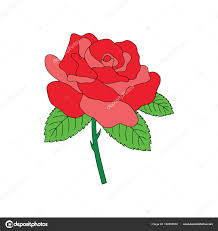 Estampes Fleur Dessin Anim Mignon Sur Fond Blanc Pour Enfants