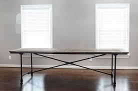 restoration hardware table. Restoration Hardware Flatiron Dining Table // 7thhouseontheleft.com