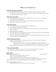 Resume Skills And Abilities Section Resume Skills And Abilities