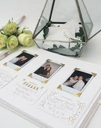 Wedding Guest Book Personalised Wedding Guest Book